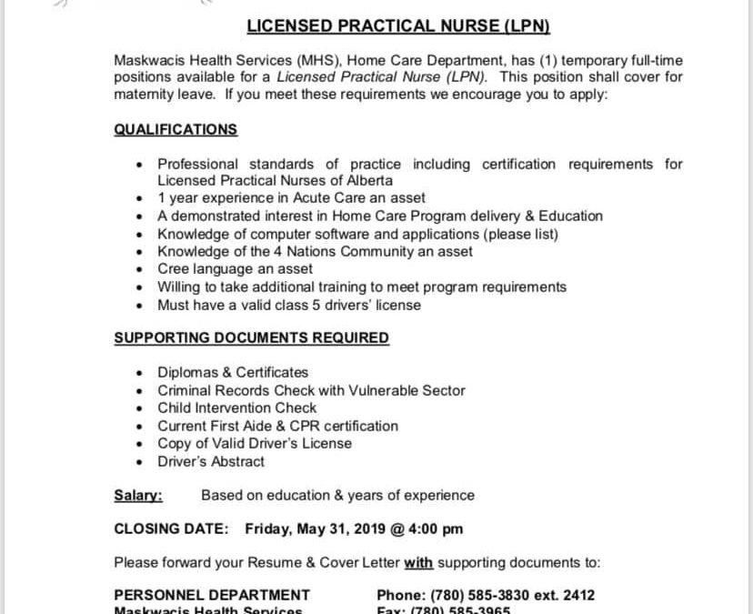 Home Care Department Registered Nurse/Nurse Practitioner ...